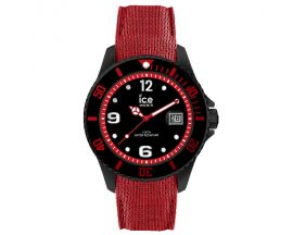 Montre Ice steel Black red Large (48mm) Ice-Watch - 015782
