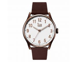 Montre ICE Time Brown White Large (43,5mm) Ice-Watch - 013047