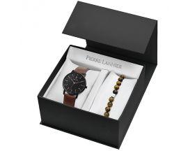 Coffret homme montre et bijou Pierre Lannier - 384A434