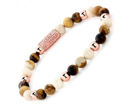Bracelet perles Rebel & Rose Automn Love 6 mm - RR-60044-S