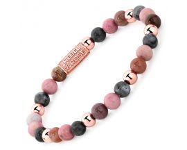 Bracelet perles Rebel & Rose Winter Glow 6 mm - RR-60042-R