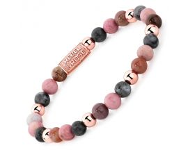 Bracelet perles Rebel & Rose Winter Glow 6 mm - RR-60042-R