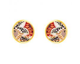 Boucles d'oreilles boutons Christian Lacroix - XF31025LD