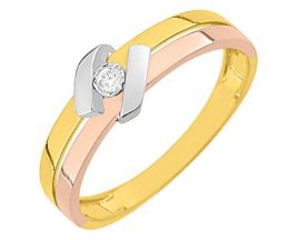 Bague or & diamant(s) Robbez Masson - QS098TB4
