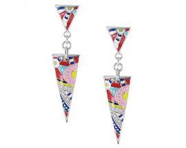 Boucles d'oreilles pendants argent Una Storia - BO121182