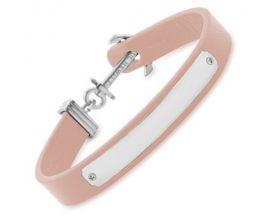 Bracelet cuir nude & acier Paul Hewitt - PH-FSC-S-N-BL-M