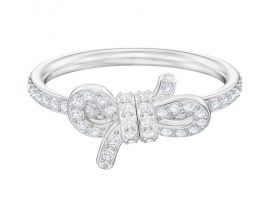 Bague Swarovski - Lifelong bow CRY/RHS
