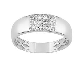 Bague or oxydes zirconium - 09SA618GZ
