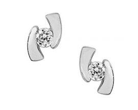 Boucles d'oreilles boutons or oxydes Robbez Masson - 29SE21GZ