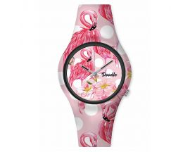 Montre femme Flamant rose Doodle - DO35004