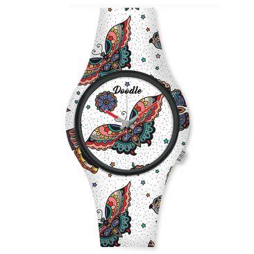 Montre femme Papillon Doodle - DO35010