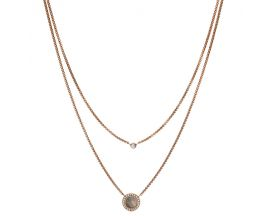 Collier acier Fossil - JF02953791
