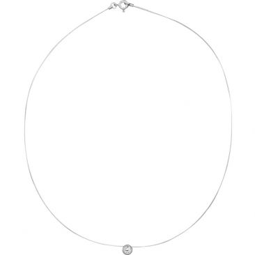 Collier fil oxyde argent Robbez Masson - 332033.1