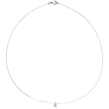 Collier fil oxyde argent Robbez Masson - 332036.1