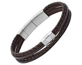 Bracelet cuir Fossil - JF02934040