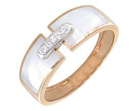 Bague or et diamant(s) Clozeau - F250DBR