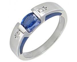 Bague or saphir et diamant(s) Clozeau - F666DSBPG