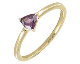 Bague or & rhodolite - BC 2379 RH