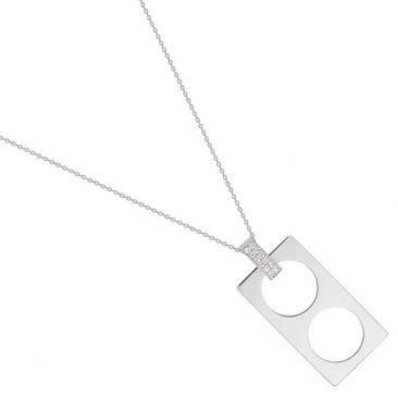 Collier argent oxydes Guy Laroche - G32003.11
