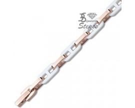 Bracelet céramique acier Ultimate Ceramic - 60C28ACB1