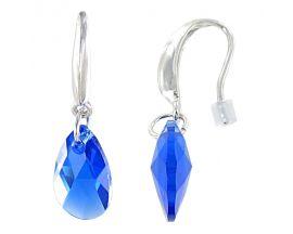 Boucles d'oreilles pendants argent Indicolite - BOCRLARM296
