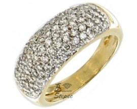 Bague or & diamant Stepec - 6395B2