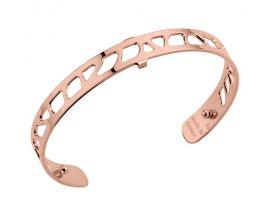 Bracelet manchette Les Georgettes - Perroquet rosé 8 mm