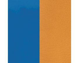 Cuir bracelet Les Georgettes - Bleu vif/Moutarde 25 mm