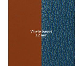 Vinyle bague 12 mm Les Georgettes FOR MEN - Camel Soft/Bleu canard