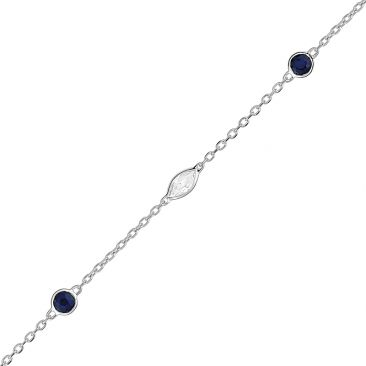 Bracelet or, saphirs & oxydesRobbez Masson - 6A618GSTZ