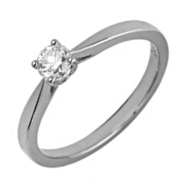 Solitaire or & diamant synthétique Diamanti - DS1001.21