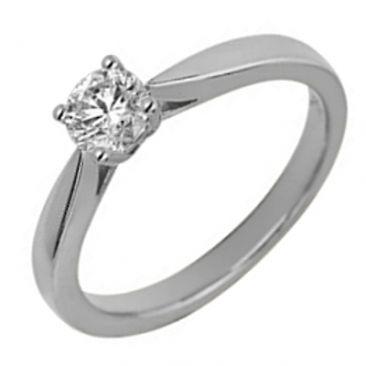 Bague solitaire or & diamant synthétique Diamanti - DS1002.21