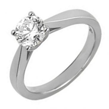 Bague solitaire or & diamant synthétique Diamanti - DS1004.21