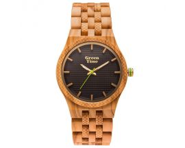 Montre homme bois d'olivier Green Time - ZW114A