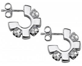 Boucles d'oreilles pendants argent GL Paris - Altesse - 70016771108000