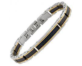 Bracelet homme acier Jourdan - LI004H