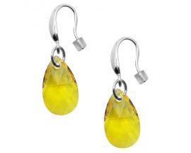 Boucles d'oreilles pendants argent Indicolite - BOCRLARM226