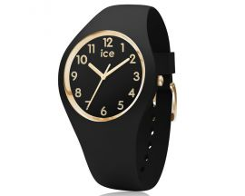 Montre ICE glam Black Gold Numbers Small (34mm) Ice-Watch - 015338