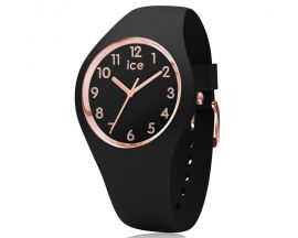 Montre ICE glam Black Rose Gold Medium Numbers (34 mm) Ice-Watch - 015340