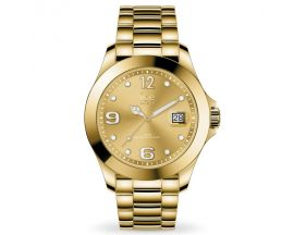 Montre Ice steel Gold full shiny Medium (40mm) Ice-Watch - 016777