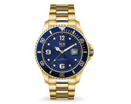 Montre Ice steel Gold blue Medium (40mm) Ice-Watch - 016761