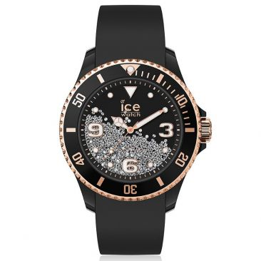 Montre ICE Crystal - Black rose gold Medium (40mm) Ice-Watch - 017249