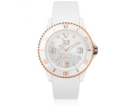 Montre ICE Crystal - White rose gold Medium (40mm) Ice-Watch - 017248