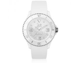 Montre ICE Crystal - White silver Medium (40mm) Ice-Watch - 017246