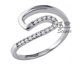 Bague or oxyde(s) de zirconium GL Paris - Altesse - 70091530608