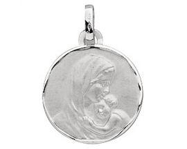 Médaille vierge et l'enfant or Stepec - XUEJPP