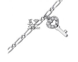 Chaine de Cheville argent GL Paris - Altesse - 70102801108