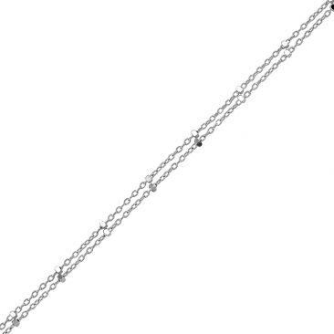 Bracelet maille fantaisie or Stepec - bPEIBE