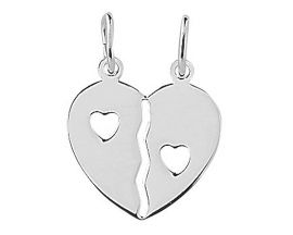 Pendentif coeur argent Stepec - 316559
