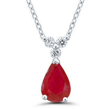 Collier or rubis & diamant(s) Stepec - NOJBSpUxJt ru og